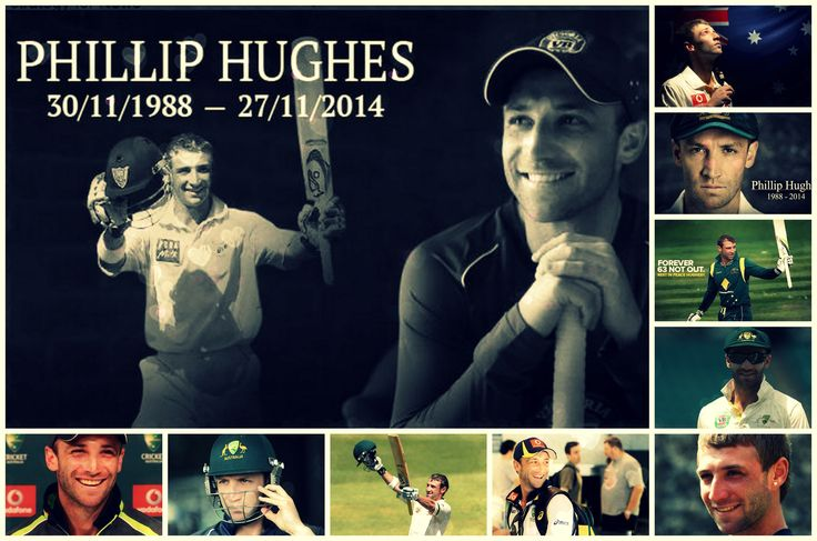 R.I.P Phillip Hughes you will be sadly missed but never forgotten :( Rest In Peace Buddy!