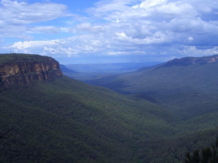 The Blue Mountains, East coast of Australia.