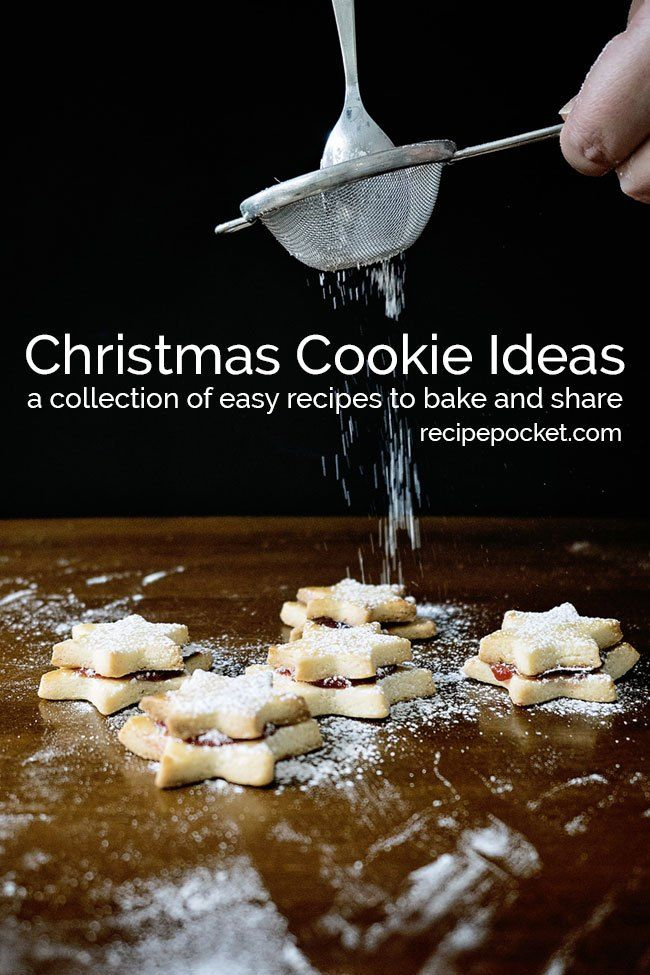 42 Easy Christmas Cookies - Recipes With Pictures BAKED BREADS