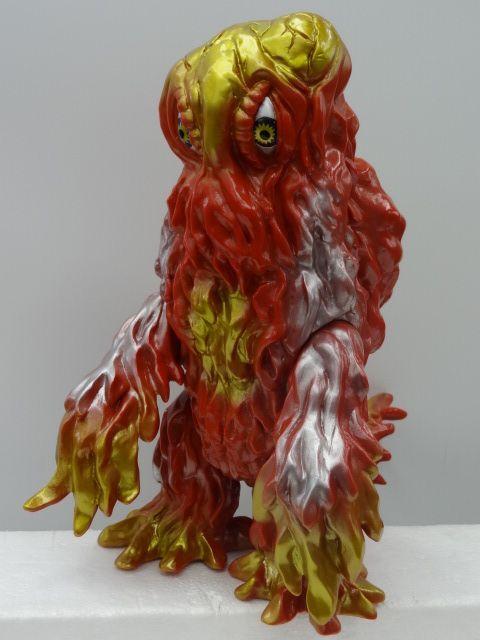 Ace Piloto Hedorah Soft Vinyl. Polution monster that battles Godzilla. #hedorah #sofubi #vinylwars #godzillatoys