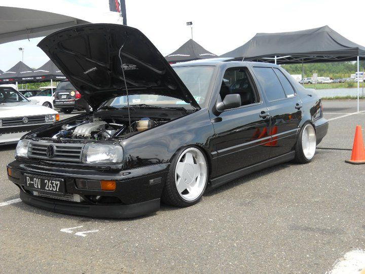Rides & Styling » vw-jetta-mk3-black-borbet-type-a  im almost there... lol not even close