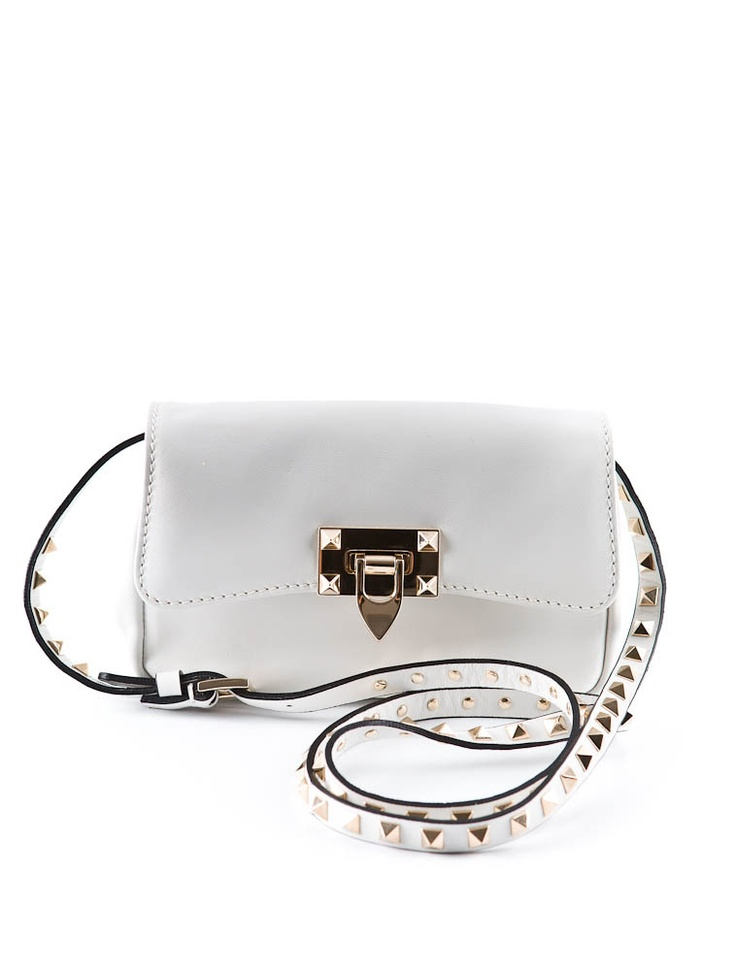 Valentino Crossbody BagLow Costs, Valentino Collection, Bags Purses, Nice Ideas, Studs Bags, Bags If, Valentino Bags Sup, White Studs, Crossbody Bags