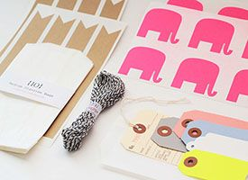 """Take your handmade biz to the next level by branding your packaging. This is a nice article from Etsy. It also includes a nice list of things to include in your """"shipping station,"""" so you can pack orders like a pro!"""