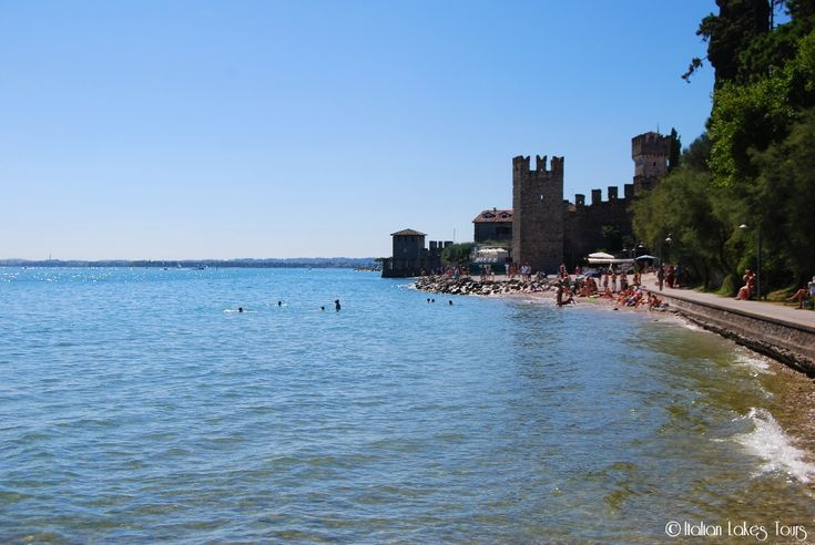 Spiaggia del Prete Sirmione #spiaggiadelprete #sirmione