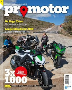 3x Promotor € 10,-: Het tijdschrift ProMotor laat je volop van de vrijheid van motorrijden genieten in woord en beeld.