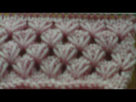 ΠΛΕΚΤΑ ΜΕ ΒΕΛΟΝΕΣ-ΑΖΟΥΡ ΤΟΥΛΙΠΕΣ.KNITTING STITCH. - YouTube