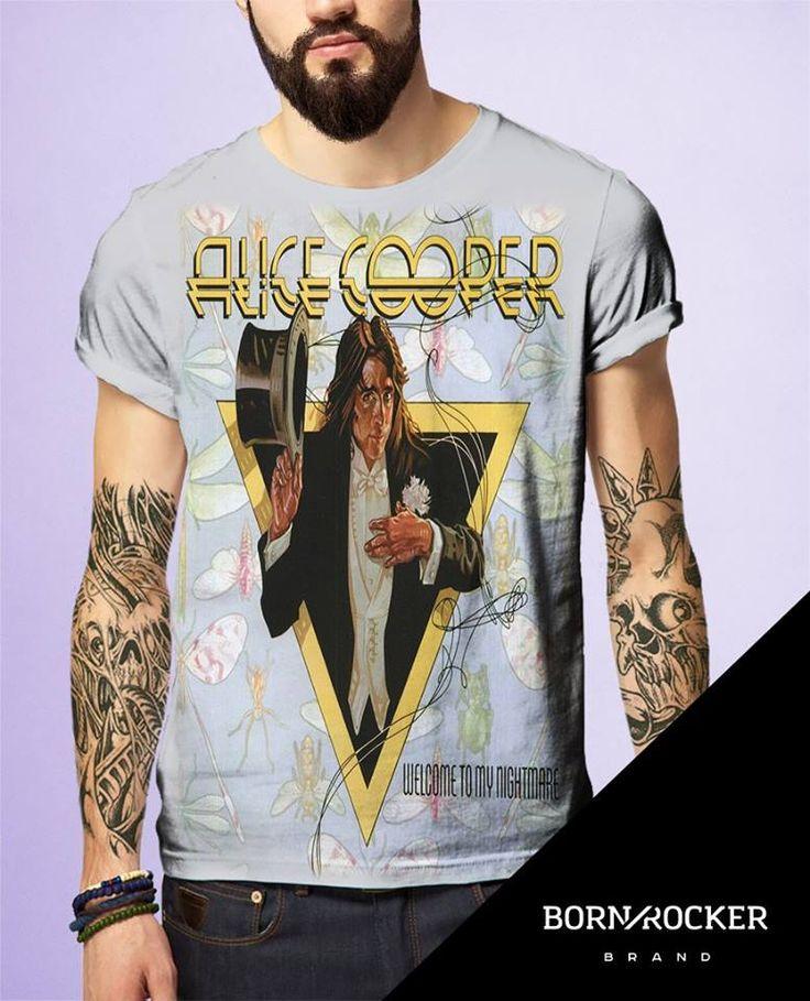 ALICE COOPER (Welcome to My Nightmare) Tshirt