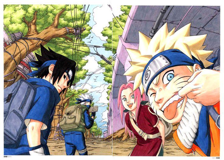 Naruto Shippuden Art Book Read Naruto Manga Online