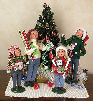 319 best Byers Choice Collectables! images on Pinterest | Caroler ...