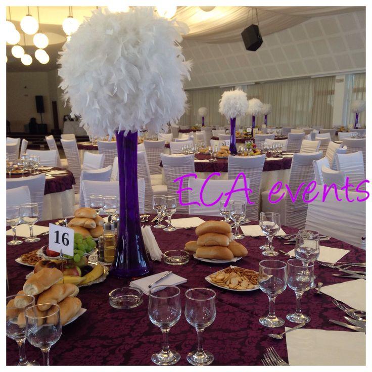wedding centerpieces feather wedding ideas wedding table bride groom reception