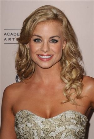 Jessica Collins (Avery Bailey Clark- Y&R)  -  She & Dancing With the Stars' Katherine Jenkins could easily play sisters.