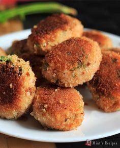 Evening Snacks Recipe for Kids-Veg Poha Cutlet