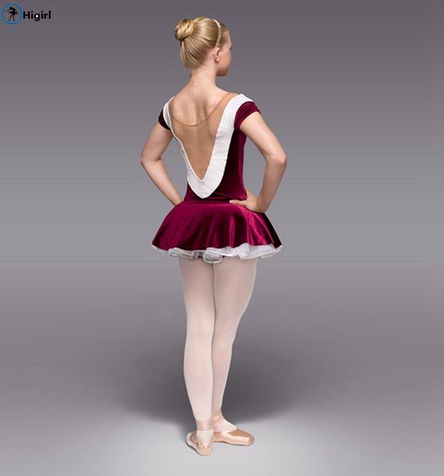 2017 темно-красный Лебединое Озеро Балетная Пачка Dress Девушки Балерина Tutu Dress Дети Танцуют Одежда Ropa Де Балет Балет для Детей костюм