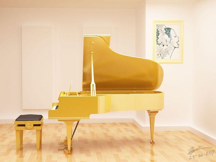Golden Piano     ///Original PIc https://lh6.googleusercontent.com/-1ItqrpXd56U/Up-tc8f7nCI/AAAAAAAATnY/-6X-K9QKkak/w1800-h1200/photo.jpg