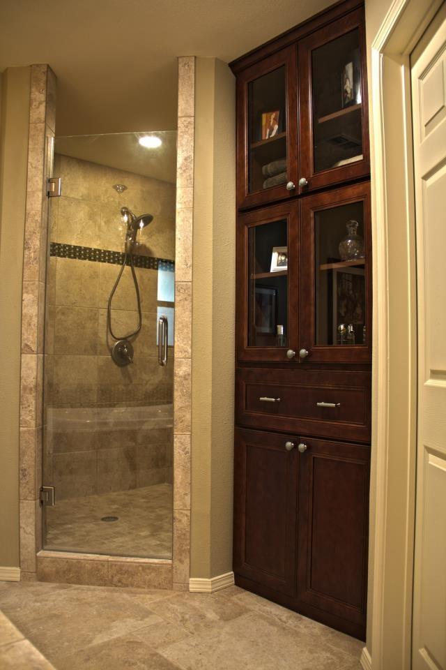 Custom Linen Closet And Shelving Home Decor Pinterest Shelving Linens And Bathroom