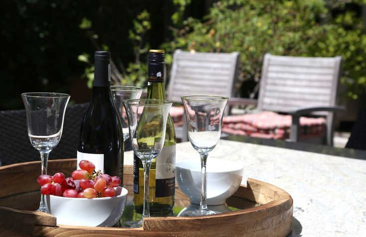 Chiappini Street: Wine at the Patio. FIREFLYvillas, Hermanus, 7200 @fireflyvillas ,bookings@fireflyvillas.com,  #ChiappiniStreet #FIREFLYvillas #HermanusAccommodation
