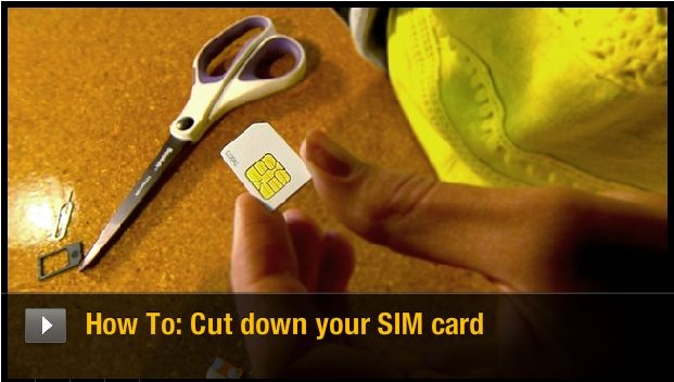 Find out how to trim your own micro-SIM card for use in phones that require this new format. http://cnet.co/R9hG4Q