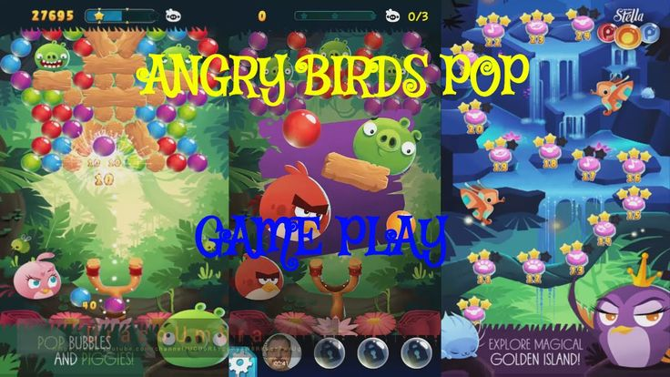 angry birds   pop   free android games