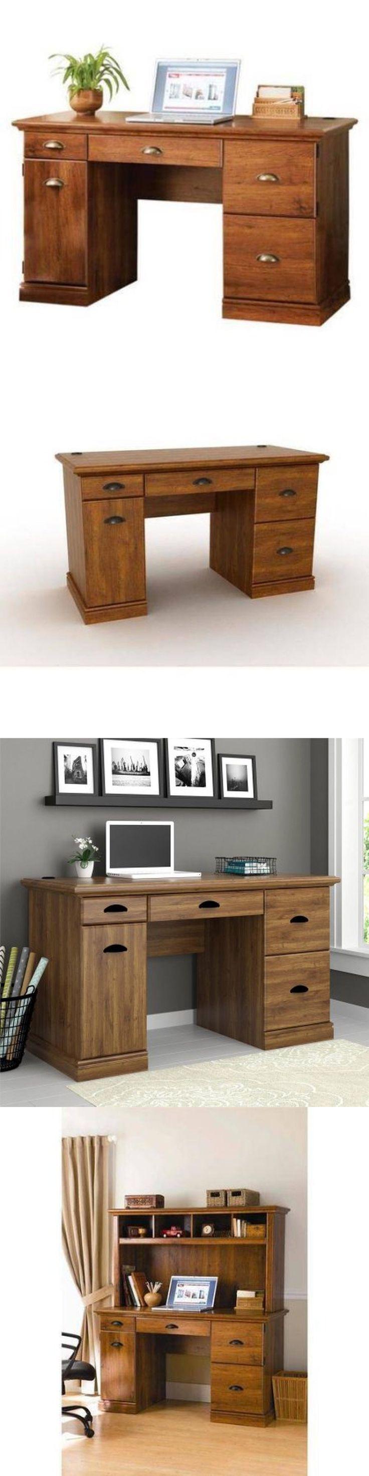 Buy vancouver expressions linen mirror rectangular online cfs uk - Office Furniture Computer Desk Workstation Drawer Table Wood Furniture Office Home Storage New