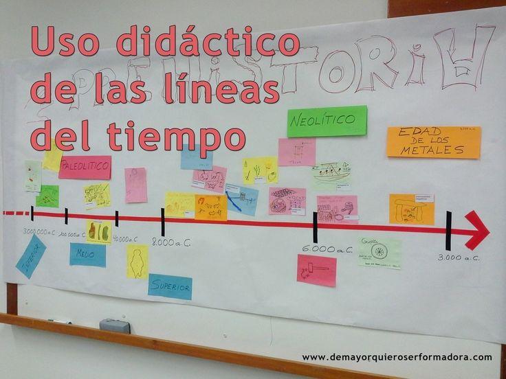 Uso didáctico de las líneas del tiempo on Todoele - Enseñanza y aprendizaje del español curated by Todoele