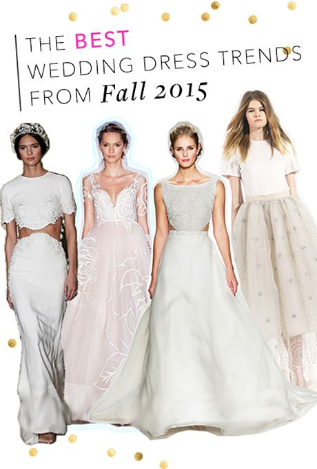 The hottest wedding dress trends we saw at Bridal Fashion Week | Brides.com