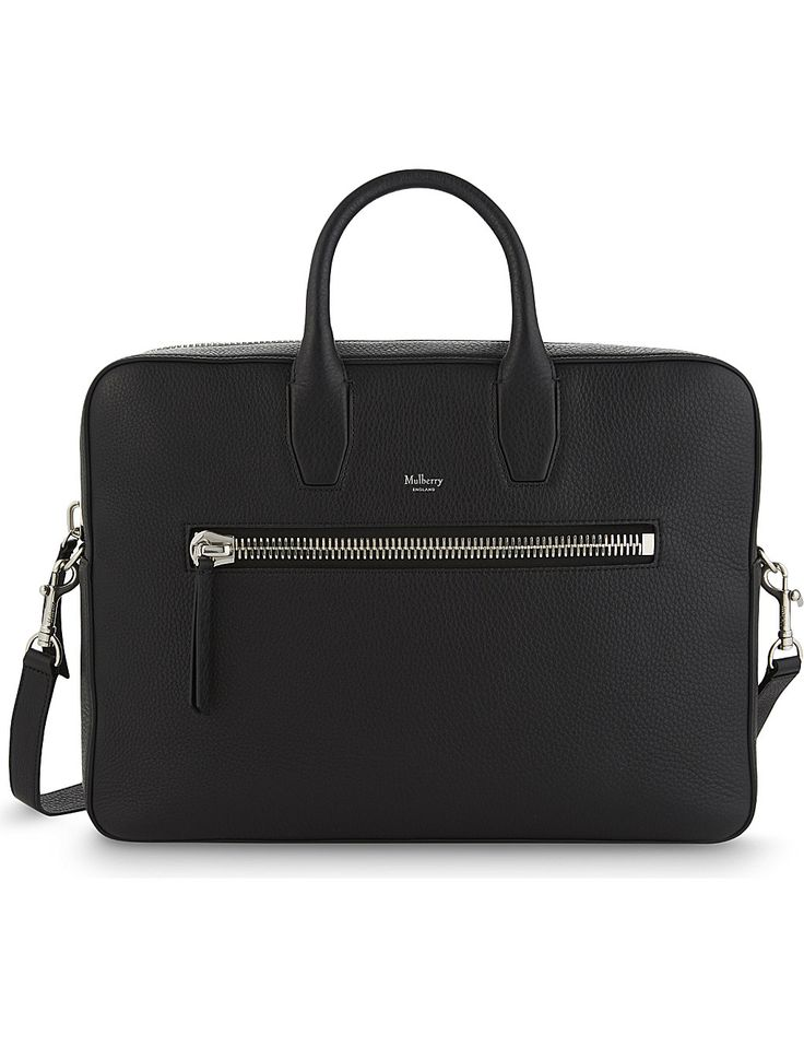 MULBERRY Kenrick grained leather briefcase