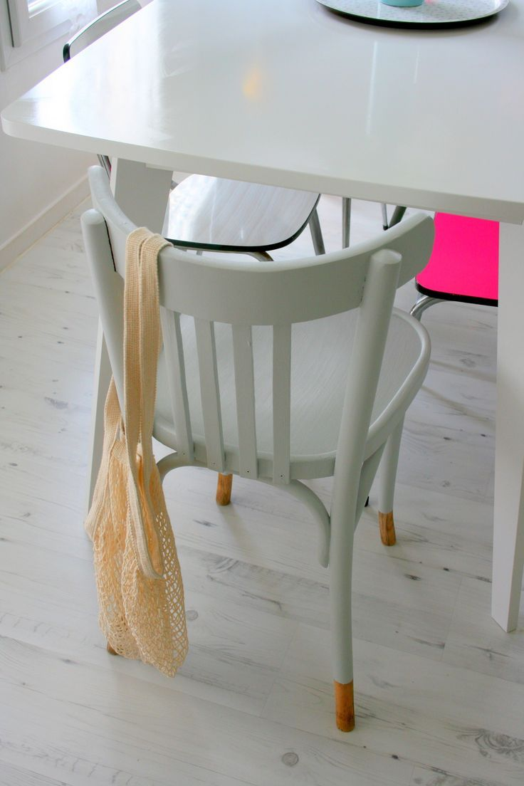 Painted Chair Kitchen Chairs Upcycled Furniture Chair Makeover