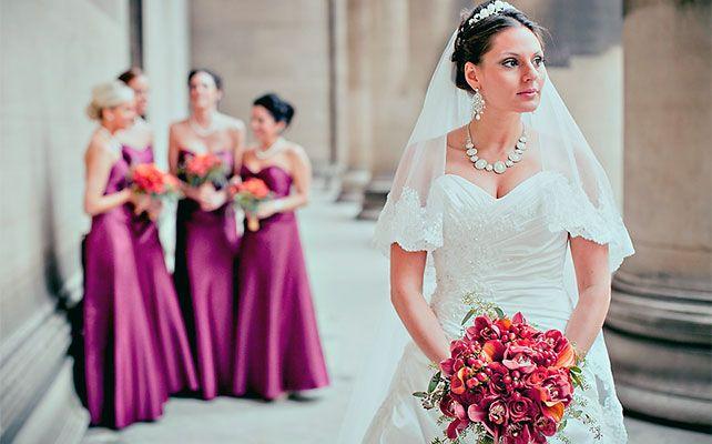 10 идей для фотографий невесты с подружками