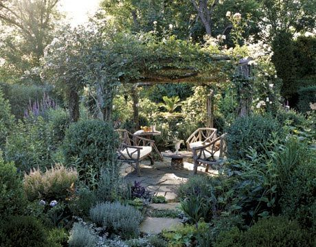 Decorating Ideas for Outdoor Spaces: Secret Garden