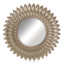 Wilko Round Mirror Sunflower