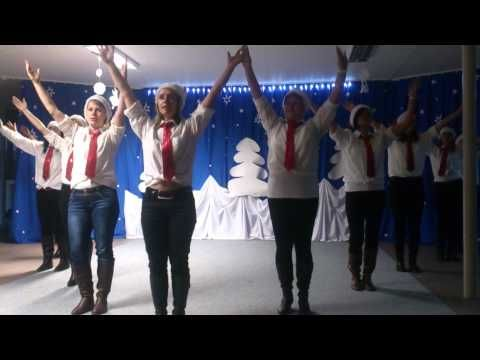 Vianočný tanec učiteliek - YouTube
