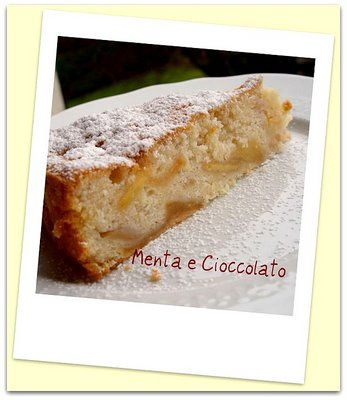 Menta e Cioccolato: Torta Bianca di Mele....Solo Albumi!!!