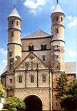 Iglesia de San Pantaleón. Colonia (Alemania), siglo X. Ejemplo de arquitectura otoniana.