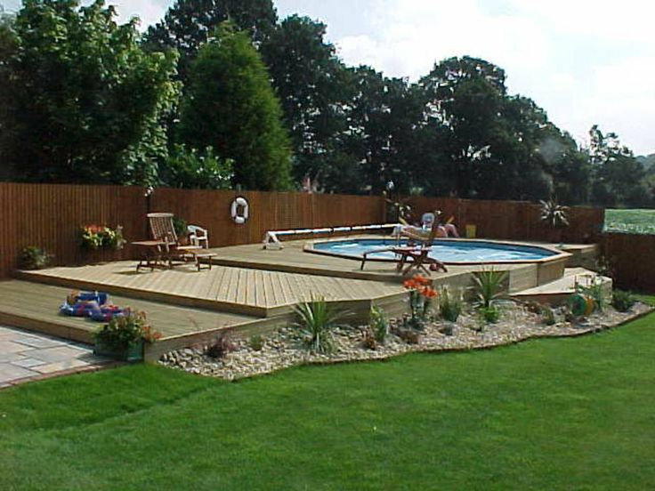 Folkpool Topaz Timber Swimming Pool