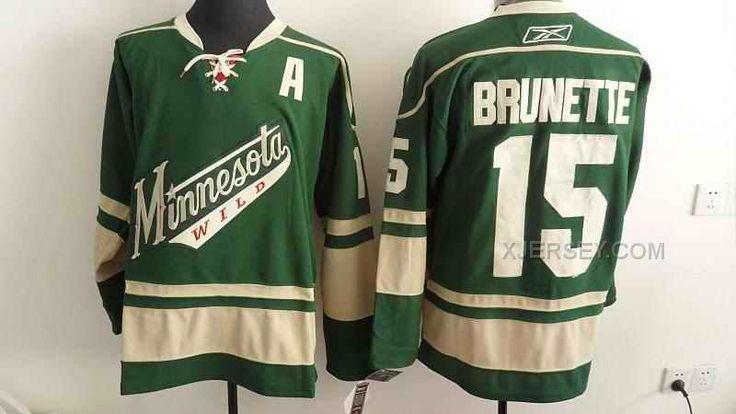 http://www.xjersey.com/wilds-15-brunette-green-jerseys.html WILDS 15 BRUNETTE GREEN JERSEYS Only $46.00 , Free Shipping!