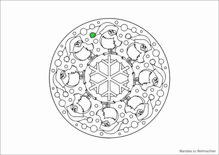 mandala zu weihnachten ausmalbilder weihnachten gruen blau