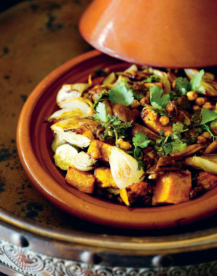 Fennel, pumpkin and eggplant tagine by Hayley Smorgon | Cooked