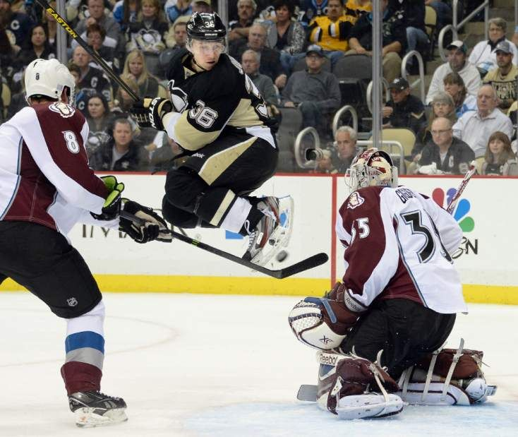 Oct. 21, 2013 — Avalanche 1, Penguins 0 (Photo: Chaz Palla  |  Tribune-Review)