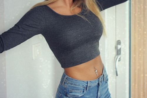 belly ring | Tumblr