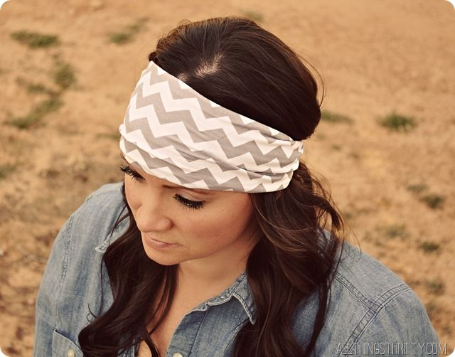 How to Make Jersey Headbands