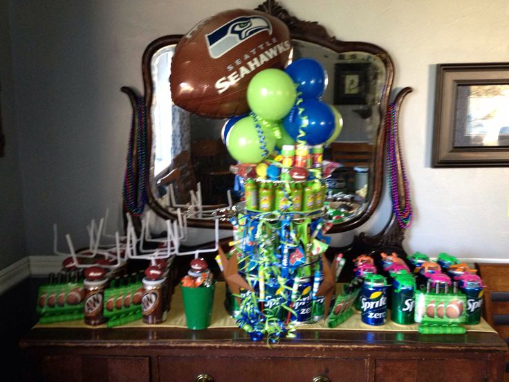 Seahawks birthday for 9 year old granddaughter! Go Hawks