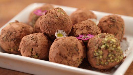 Coconut Fudge Balls