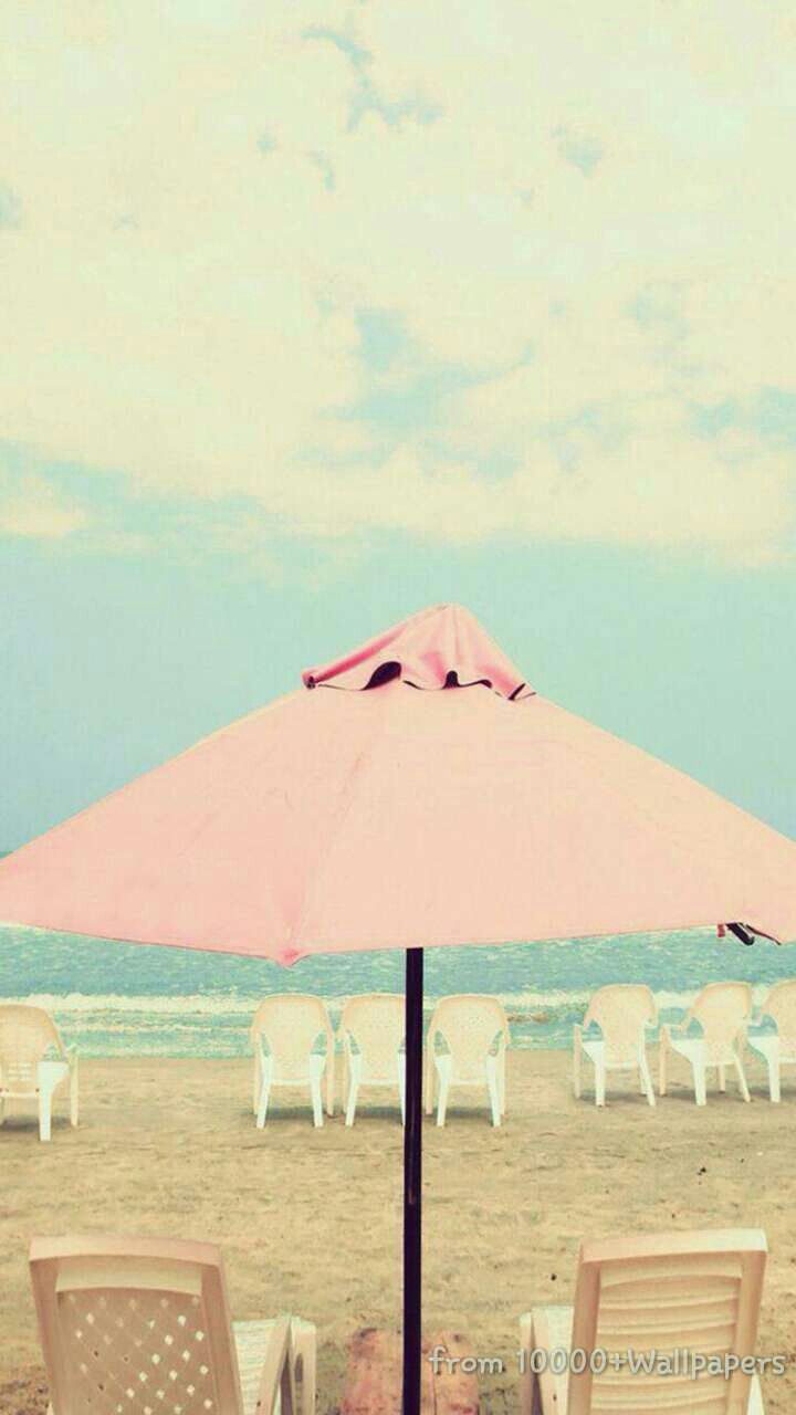 Pastel On The Beach Find More Summer Themed Wallpapers For Your