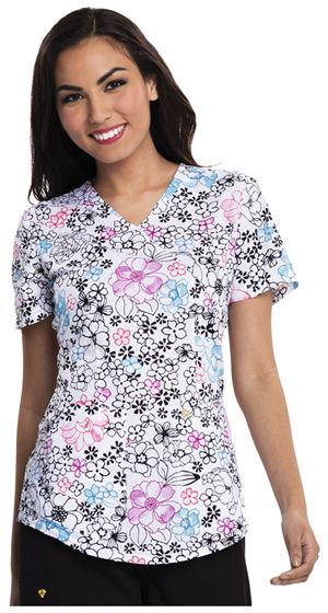 "Wear this Careisma top ""Just Fleur Fun"" to introduce some sophisticated color into your wardrobe! 