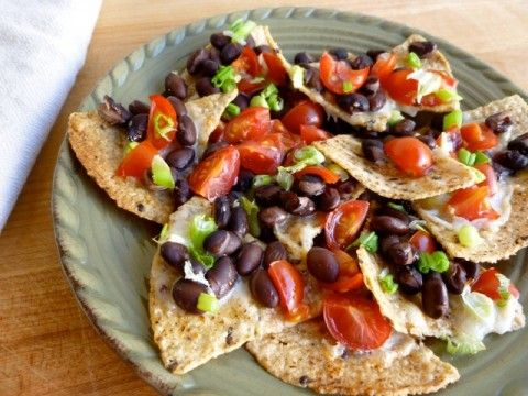 Weight Watchers Skinny Cheese & Black Bean Nachos - Wellsphere