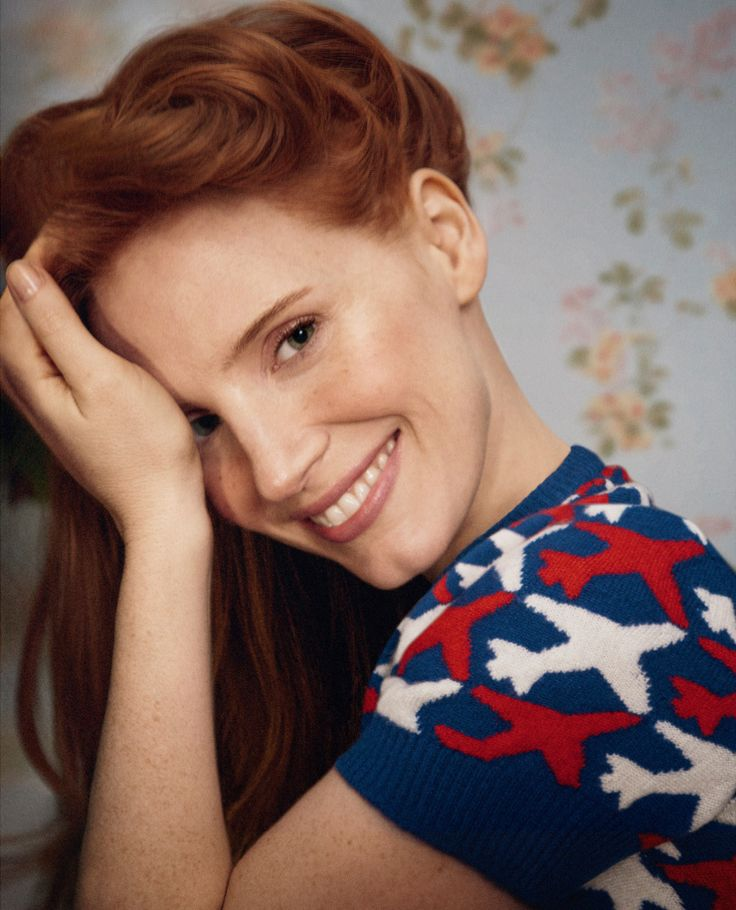Jessica Chastain by Ryan McGinley for Porter Magazine Summer 2016 2