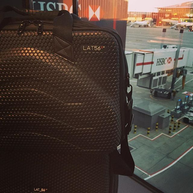 """Andy's LAT_56 BC_01 Briefcase and RW_01 Road Warrior on """"their first leg from LHR to YYZ, four weeks later, three continents, 7 cities."""""""