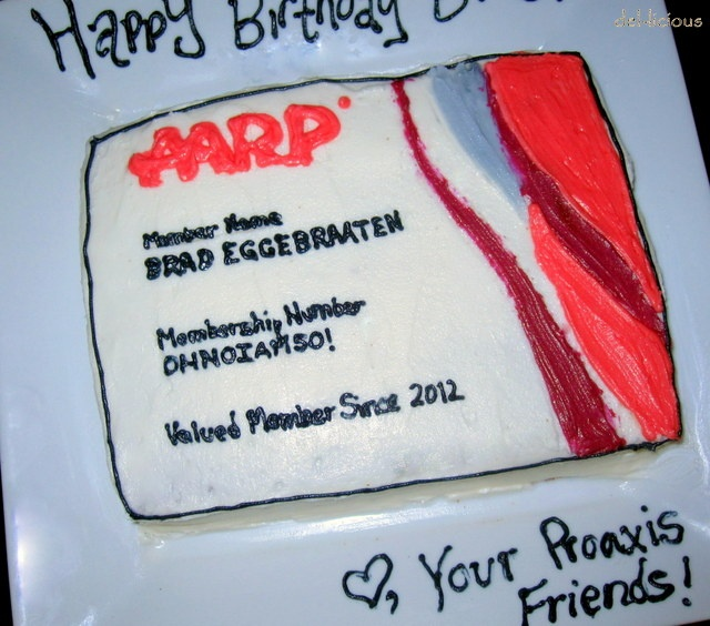 AARP 50th Birthday Cake | Birthday Ideas | Pinterest ...