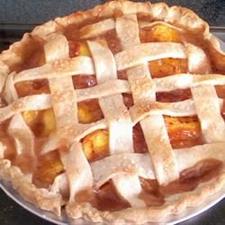 """Freezer Peach Pie Filling 