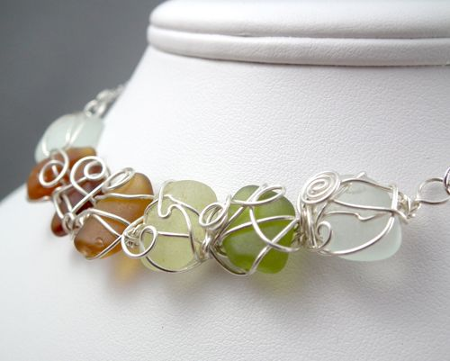 Beach Glass Jewellery :: gayle bird designs HER SHOP IS IN NOVA SCOTIA...IT IS MY DREAM TO GO THERE FOR LOBSTER